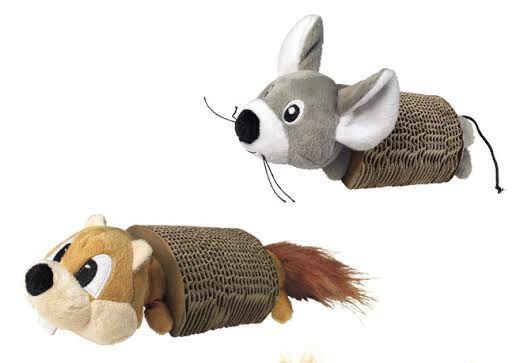Brinquedo para gatos Pelúcia com arranhador com catnip KONG