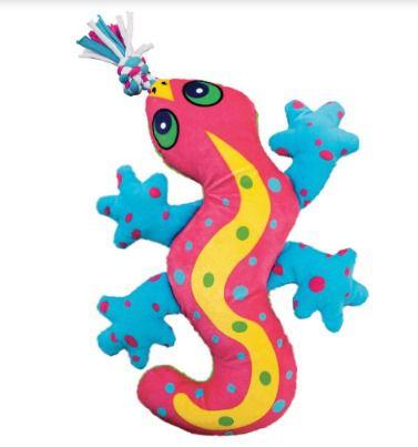 Pelúcia Lagarto KONG Aloha Gecko para cães