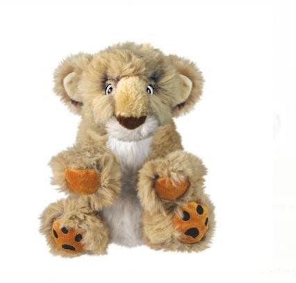 Pelúcia Leão Comfort Kiddos Lion KONG para cães tamanho PP