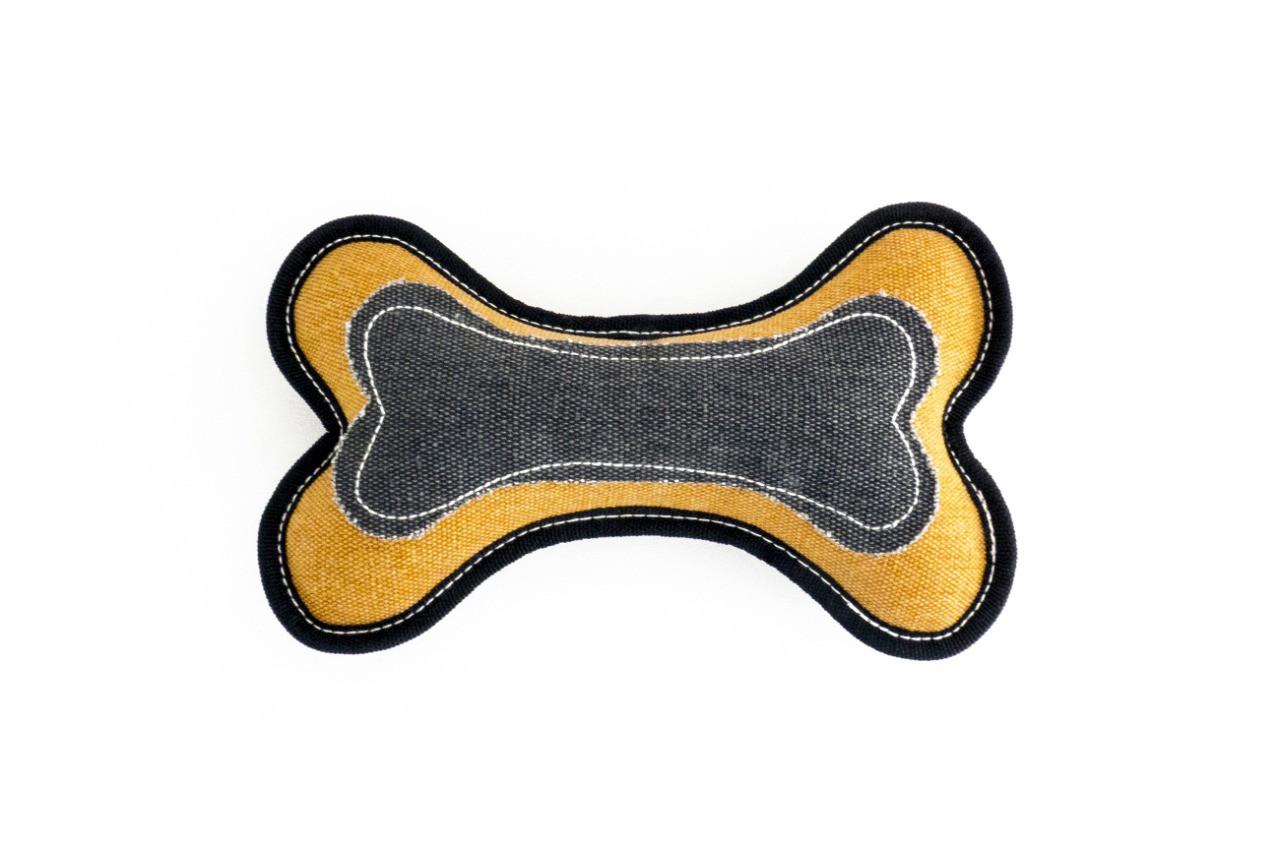 Pelúcia Osso de Lona e apito cães Petlon