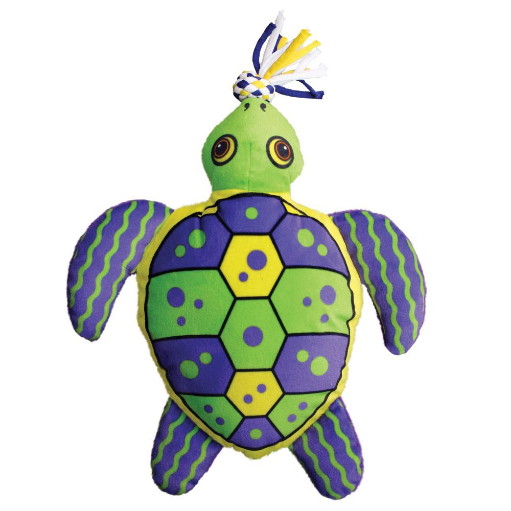 Pelúcia Tartaruga KONG Aloha Turtle para cães