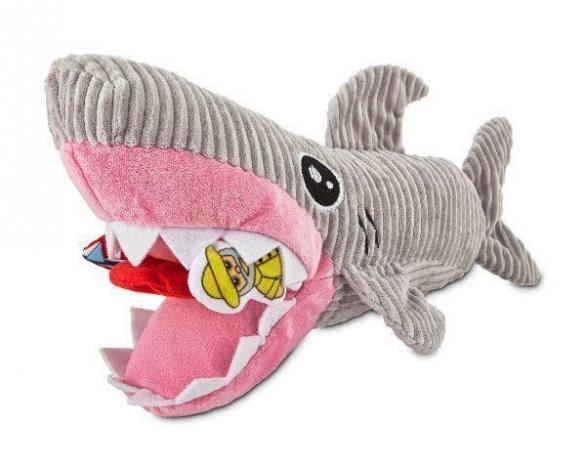 Brinquedo para cães Pelúcia Tubarão Interativo
