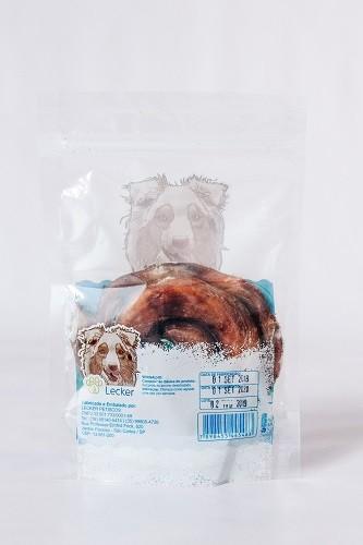 Petisco Desidratado Lecker Vergalho bovino para cães