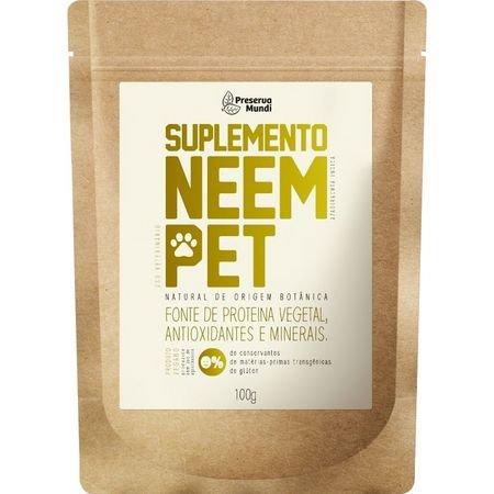 Suplemento em Pó natural Neem para Pet Preserva Mundi