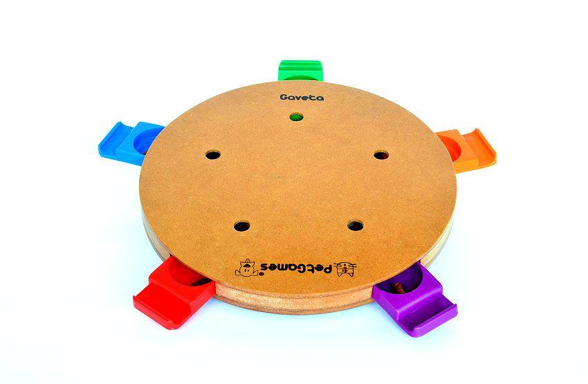 Brinquedo Tabuleiro Jogo Interativo Gavetas