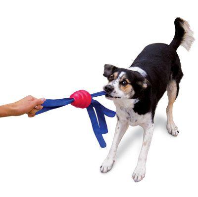 Brinquedo para cães Interativo Resistente KONG Tails