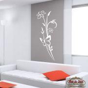 Adesivo de Parede Florais Floral 24 Branco