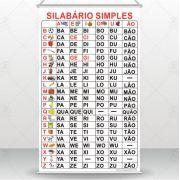 Banner Silabário Simples Pedagógico Didático