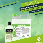 Álcool Gel para Higiene Geral 70% PROTELIM 4,4$,kg (5L)