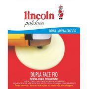 Boina de Lã Dupla Face Fio Branca LINCOLN 8 POL