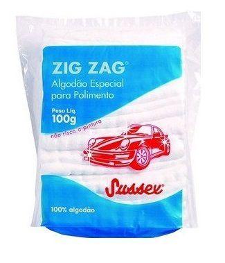 Algodão Zig Zag 100GR