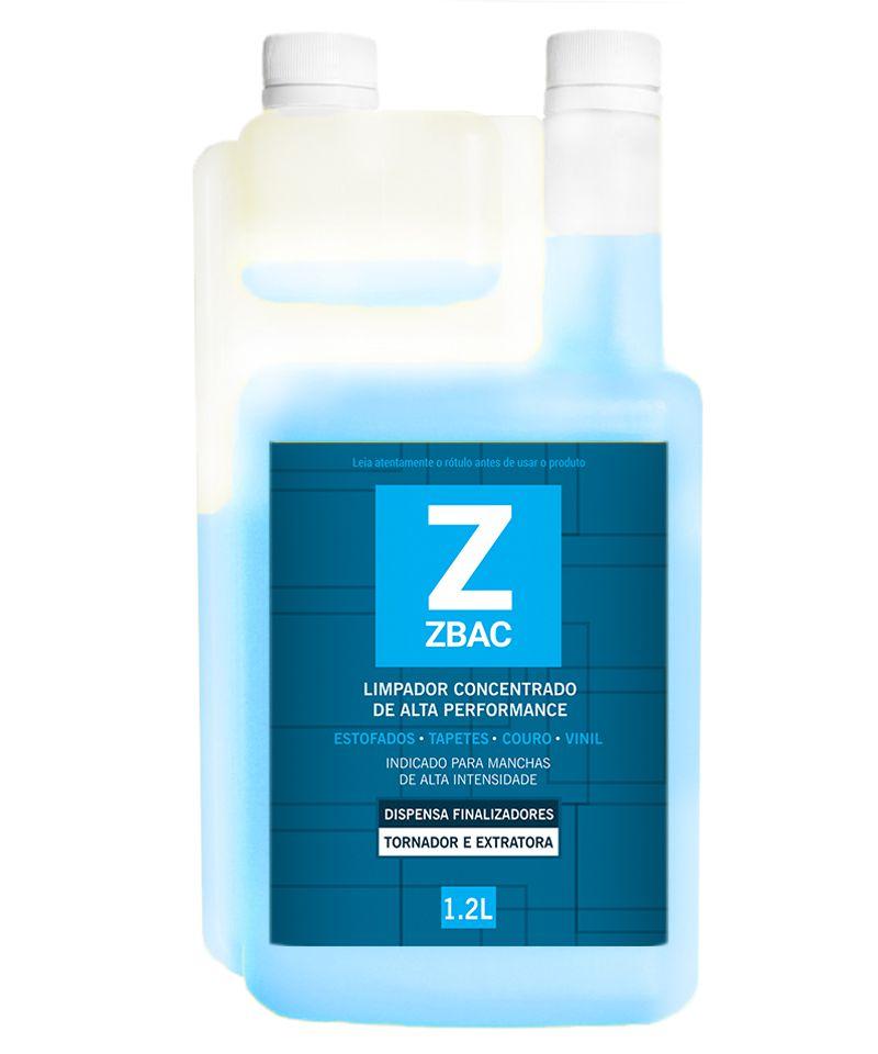 Alvejante e Finalizador Bactericida ZBAC EASYTECH 1,2L