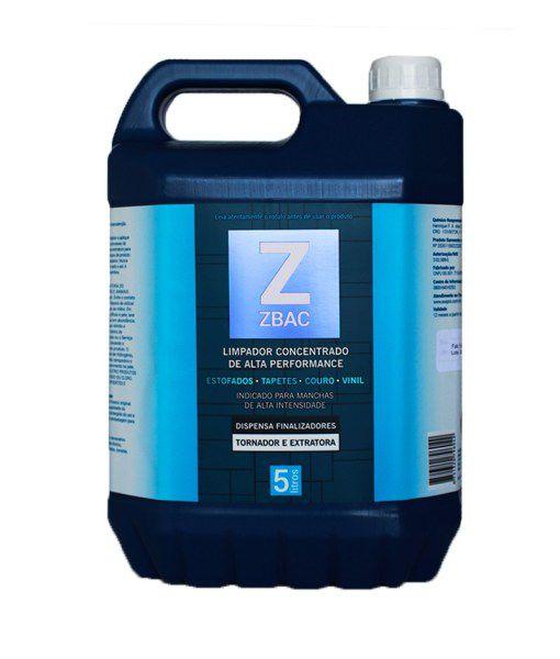 Alvejante e Finalizador Bactericida ZBAC EASYTECH 5L