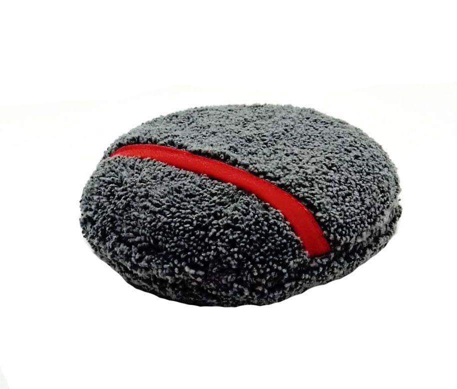 Aplicador de Microfibra c/ Encaixe Cinza com vermelho GRAN FINALE