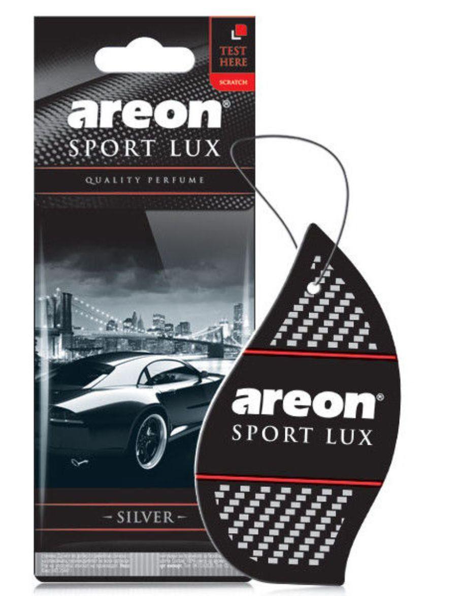 Aromatizante Folha Sport Lux Silver AREON