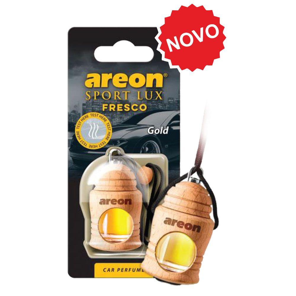 Aromatizante Fresco Sport Lux Gold AREON