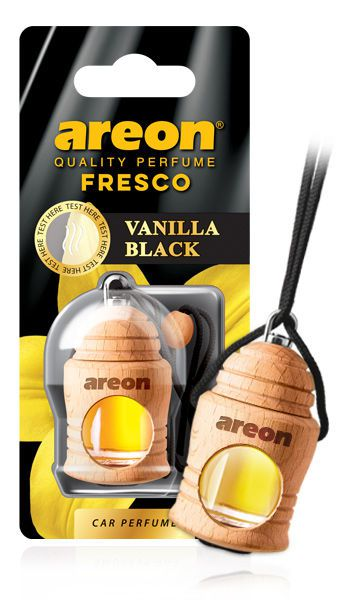 Aromatizante Fresco Vanilla Black AREON