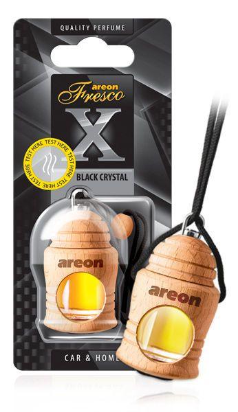 Aromatizante Fresco X Black Crystal AREON