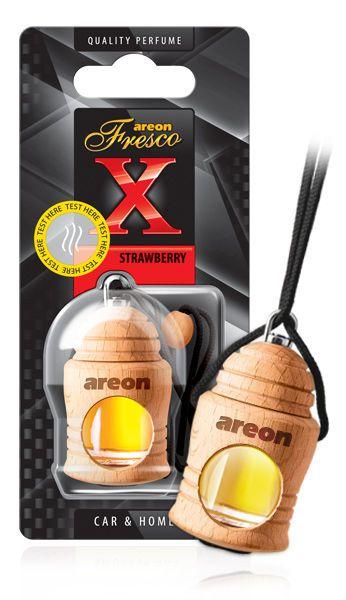 Aromatizante Fresco X Version Strawberry (morango) AREON
