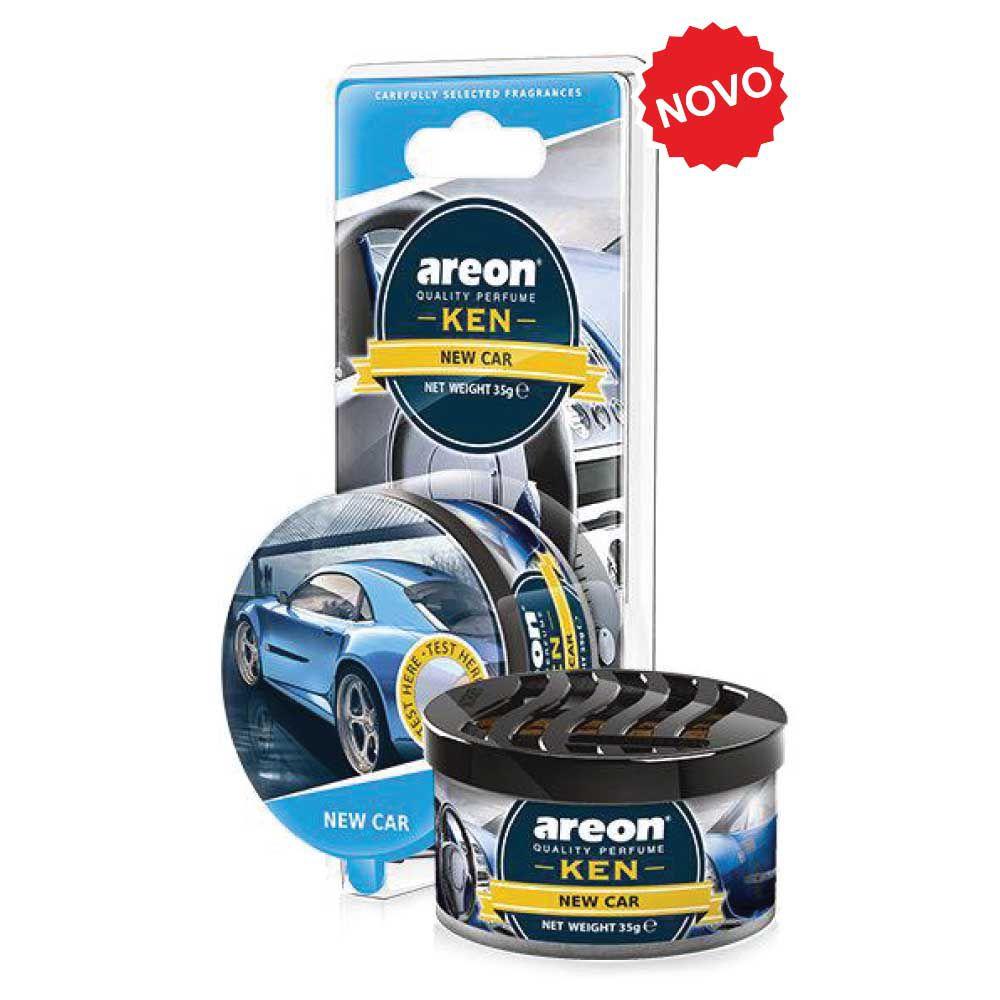 Aromatizante Ken Blister New Car Carro Novo AREON