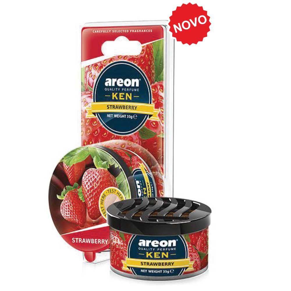 Aromatizante Ken Blister Strawberry AREON