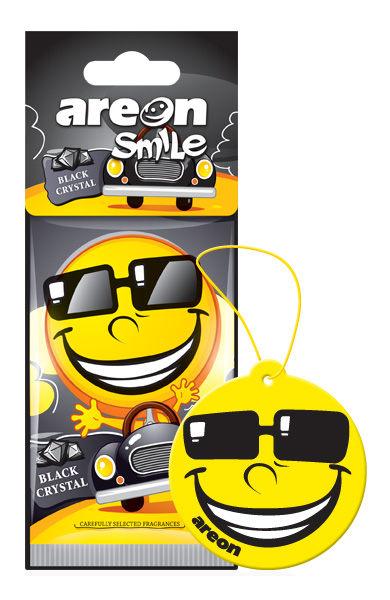 Aromatizante Smile Black Cristal AREON