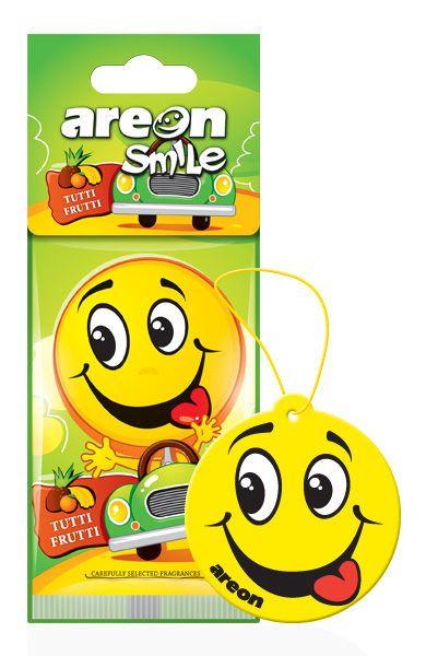 Aromatizante Smile Tutti-Frutti AREON
