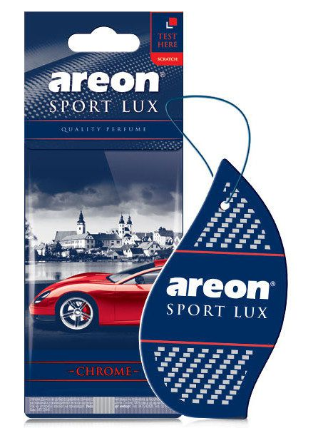 Aromatizante Sport Lux Chrome AREON