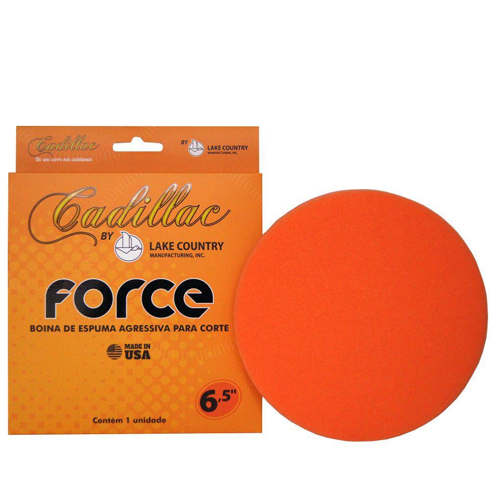 Boina de Espuma Laranja Force Corte CADILLAC 6,5 POL