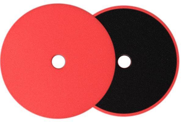 Boina de Espuma Low-Pro Vermelha Super Macia BUFF AND SHINE 6 POL