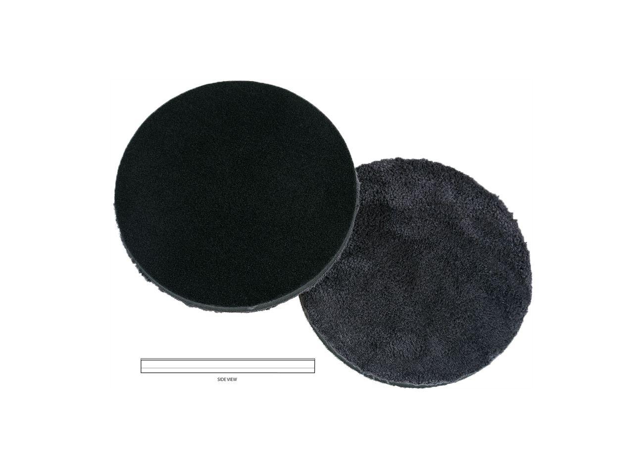 Boina de Microfibra Preta 5 pol LAKE COUNTRY