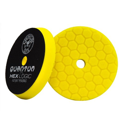Boina Quantum Hexlogic Amarela Corte Pesado 5.5 pol CHEMICAL GUYS