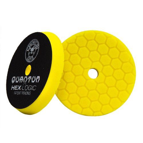 Boina Quantum Hexlogic Amarela Corte Pesado 6.5 pol CHEMICAL GUYS