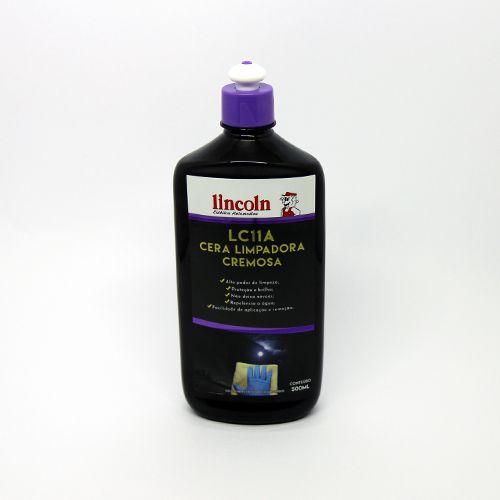Cera Cremosa Limpadora LC11A LINCOLN 500ML