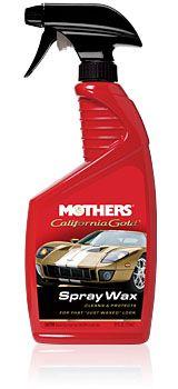 Cera Em Spray Califórnia Gold Spray Wax Mothers 710ml