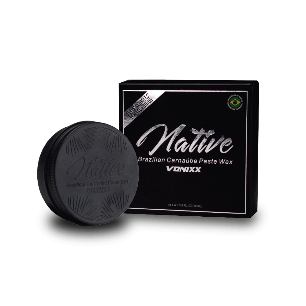 Cera Paste Wax de Carnaúba Native Brasilian Black Edition VONIXX 100gr