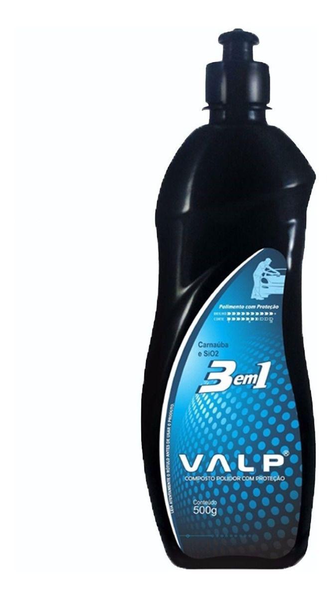 Composto Polidor 3 em 1 Valp ALCANCE 500gr