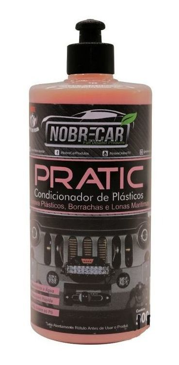Condicionador de Plásticos Pratic NOBRE CAR 500ML
