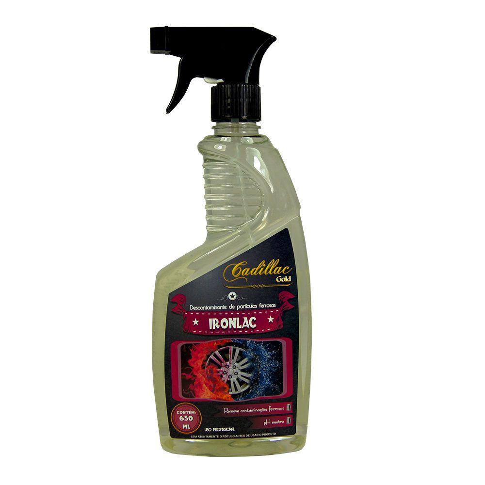 Descontaminante de Particulas Ferrosas Ironlac CADILLAC 650ML