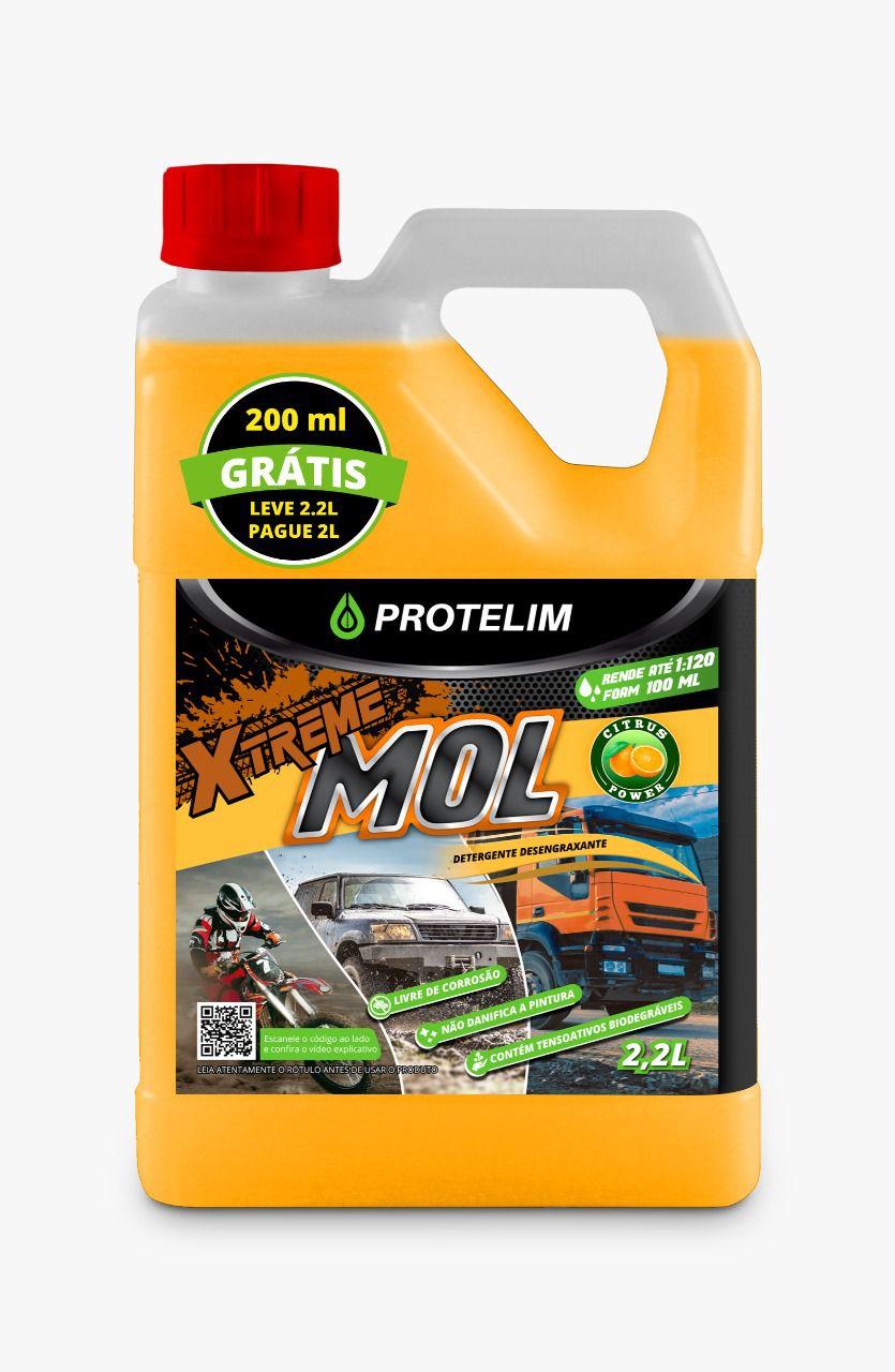 Detergente e Desengraxante Xtreme Mol PROTELIM 2,2L