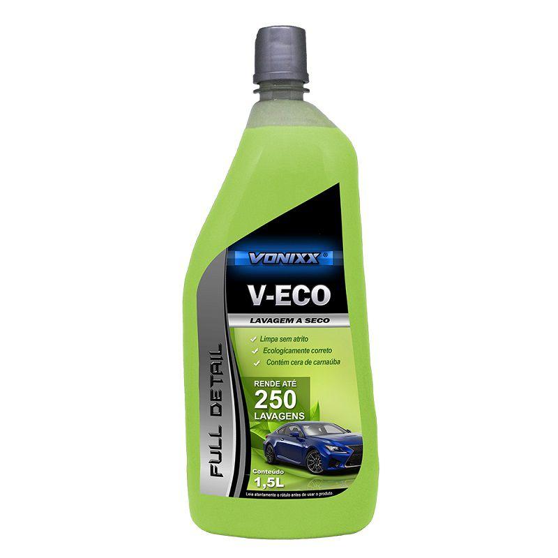 Lava a Seco com Carnaúba Concentrado V-Eco VONIXX  1,5L