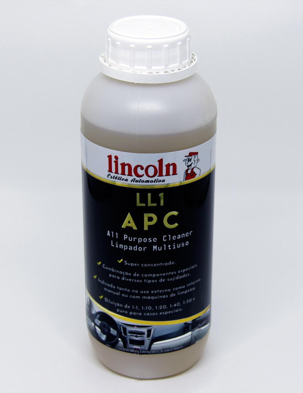 Limpador APC MultiUso LL1 LINCOLN 1L