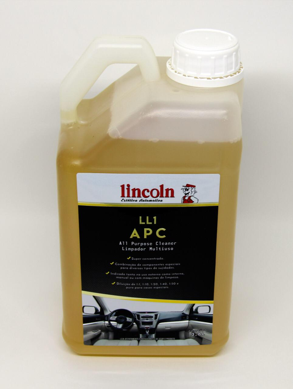 Limpador APC MultiUso LL1 LINCOLN 3,6L