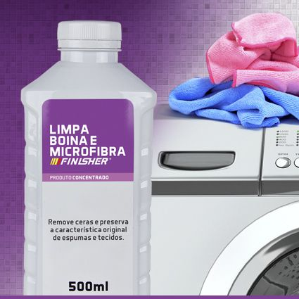 Limpador de Boinas e Microfibras FINISHER 500ML