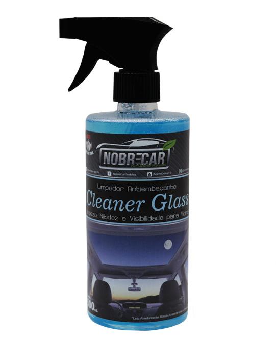 Limpador de Vidros Antiembaçante Cleaner Glass NOBRE CAR 500ML