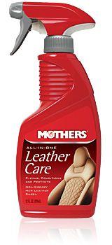 Limpador e Hidratante de Couro 3 em 1 All-in-one Leather Care MOTHERS 355ML