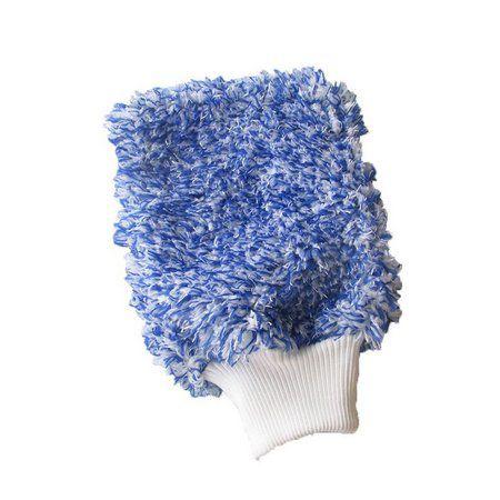 Luva de Lavagem Super Microfibra Tornado Azul DETAILER