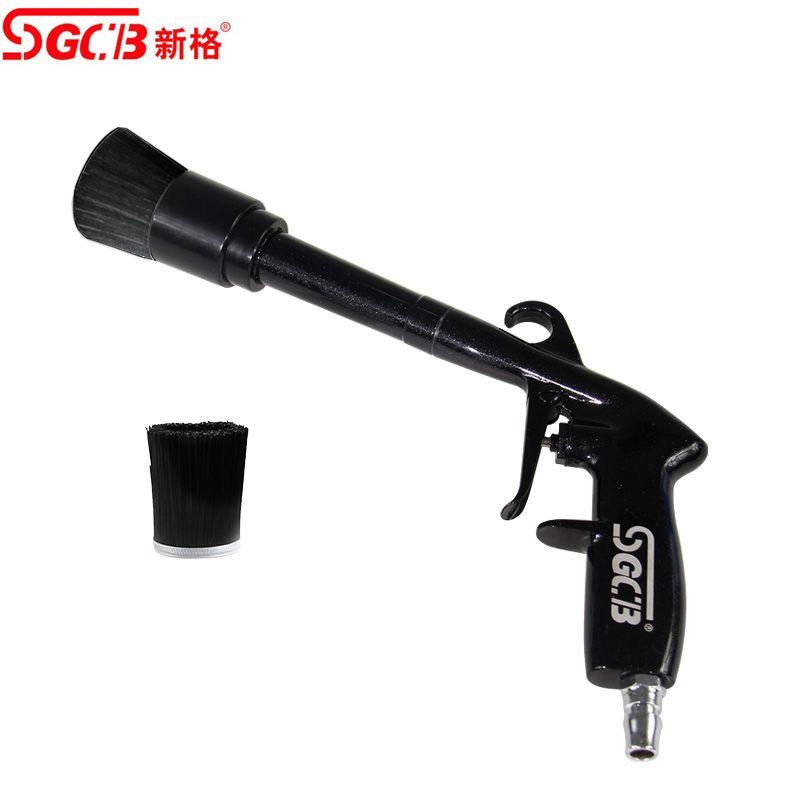 Pistola de Ar Tornadora com Escova SGCB
