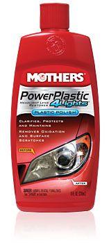 Polidor de Plastico e Farol Power Plastic MOTHERS 236ML