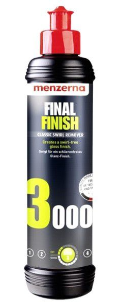 Polidor de Refino e Lustro Final Finish FF3000 MENZERNA 250ML